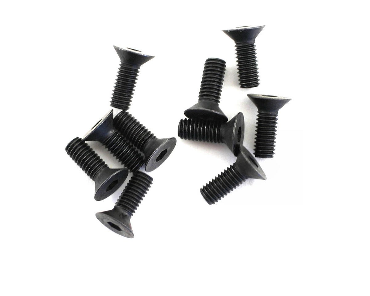 3x8mm Flat Head Hex Screw (10)