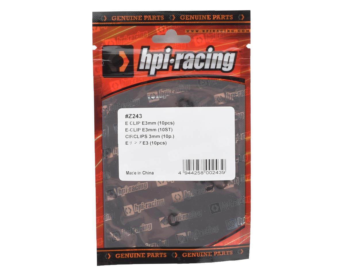 HPI Racing 3mm E-Clip (10)