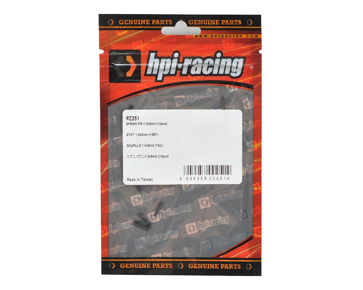 1.5x8mm Spring Pin (10) by HPI