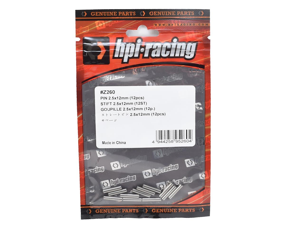 HPI Racing 2.5x12mm Pin (12)