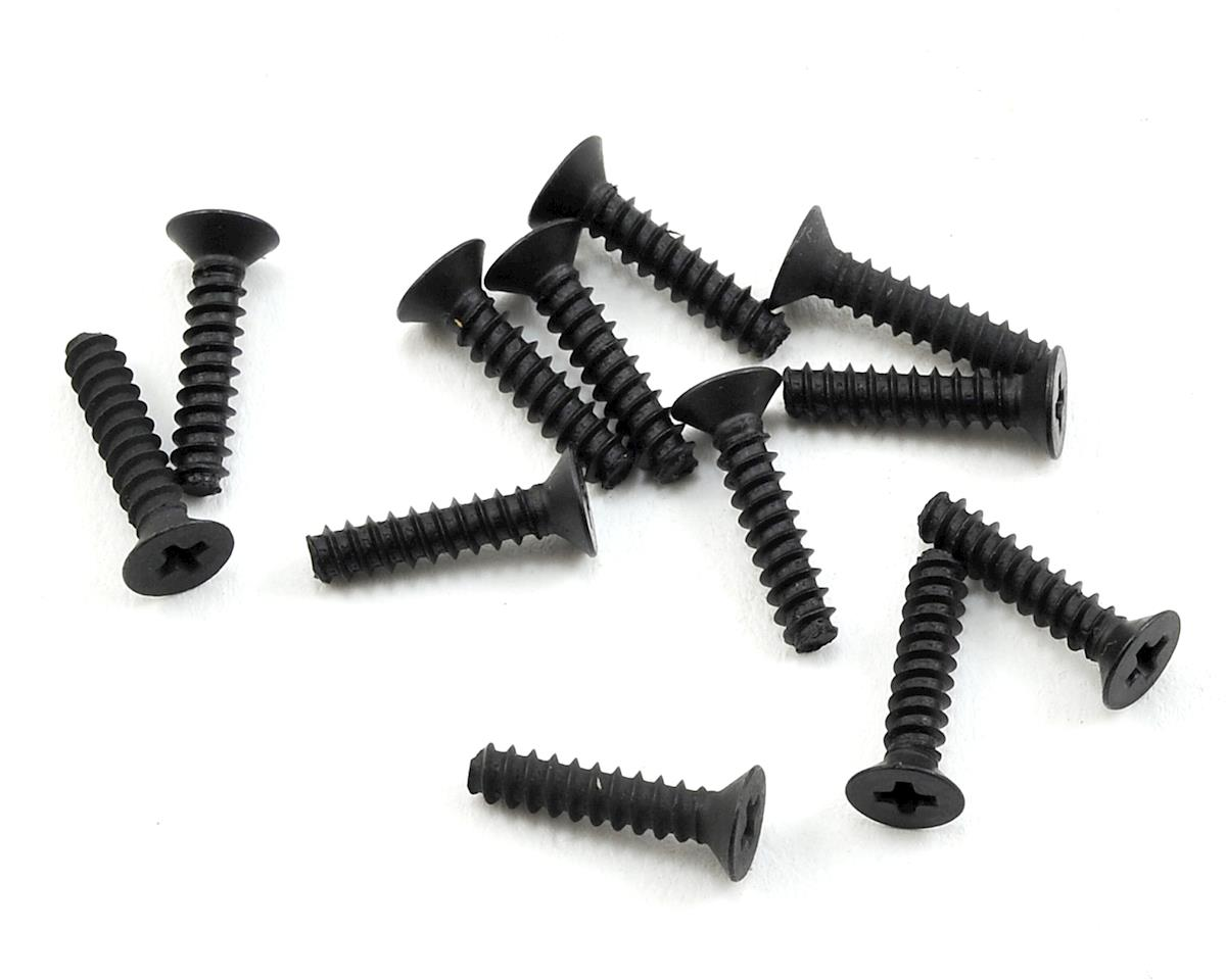 2.6x12mm Flat Head Self Tapping Phillips Screw (12) by HPI