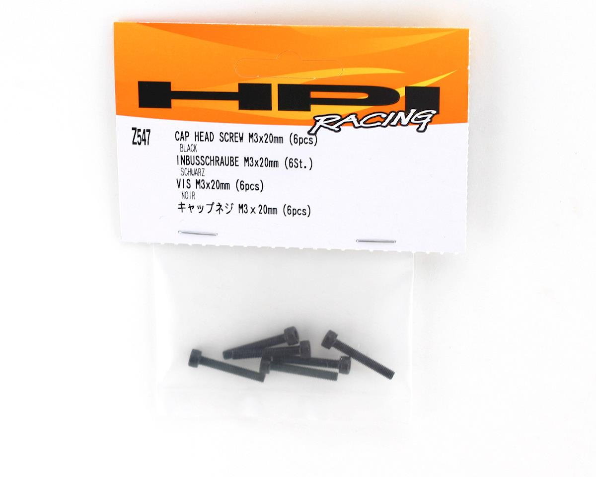 HPI Racing 3x20mm Cap Screw (6)