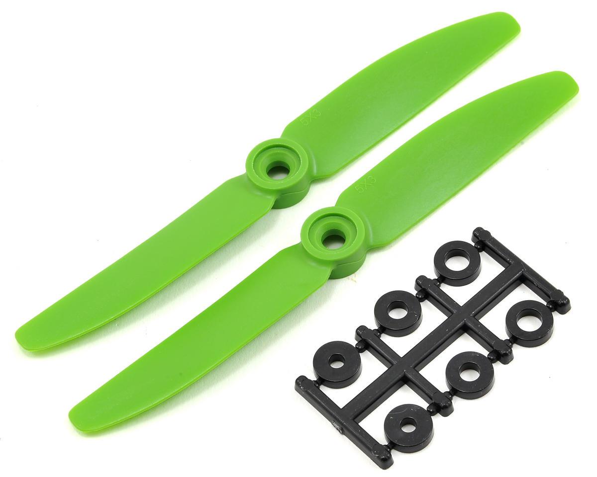HQ Prop 5x3 Propeller (Green) (2)