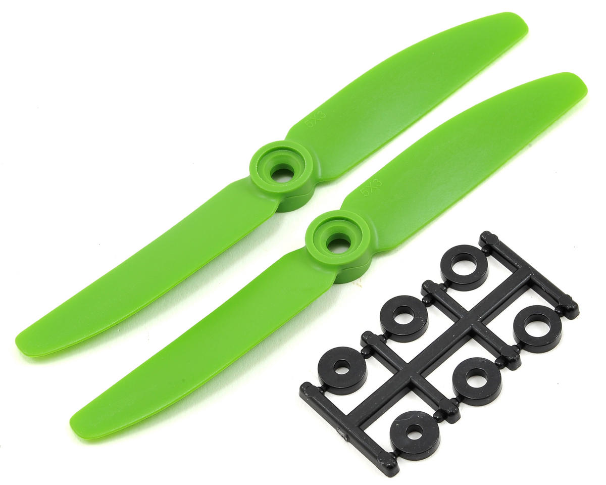 HQ Prop 5x3 Propeller (Green) (2)