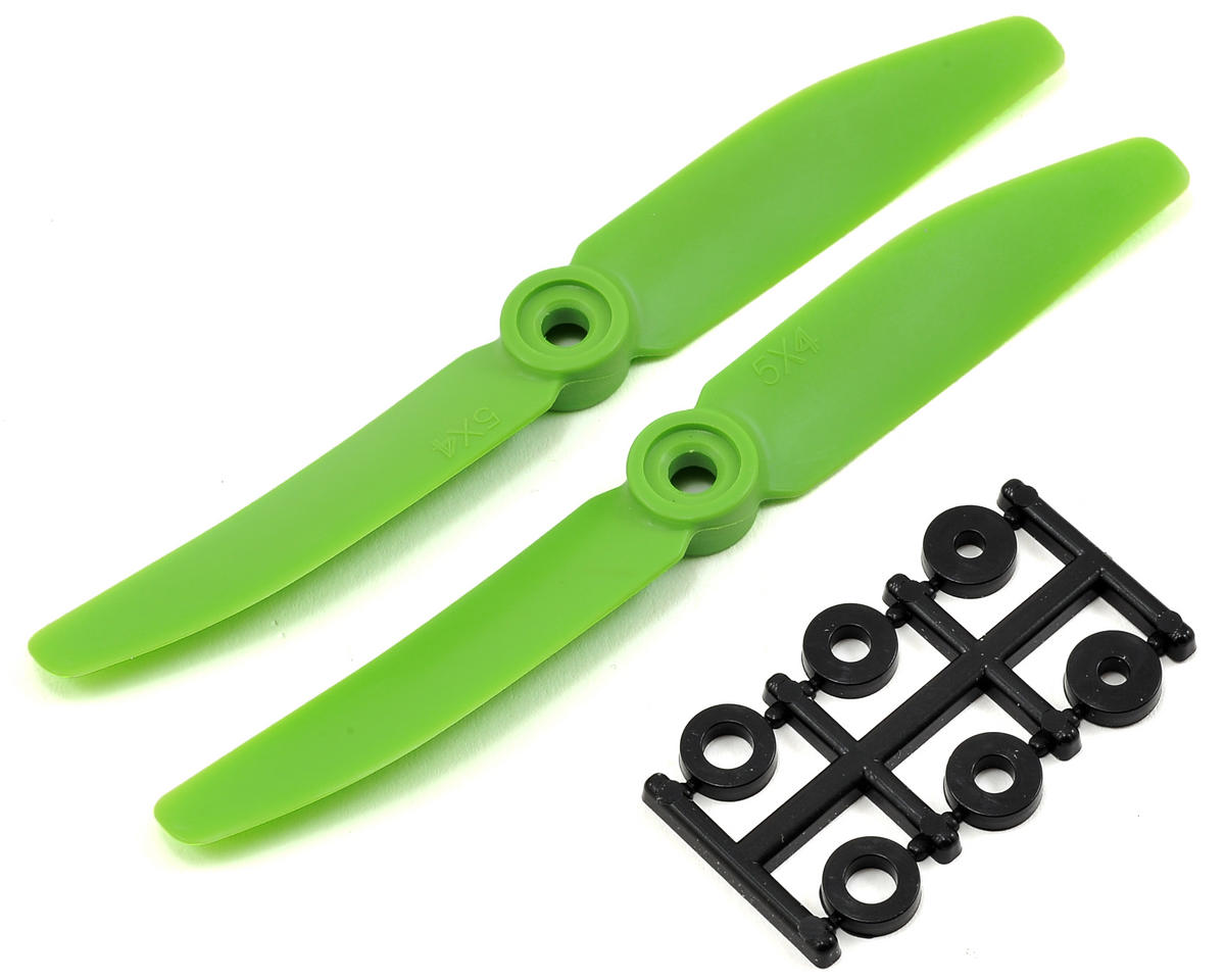 HQ Prop 5x4 Propeller (Green) (2)