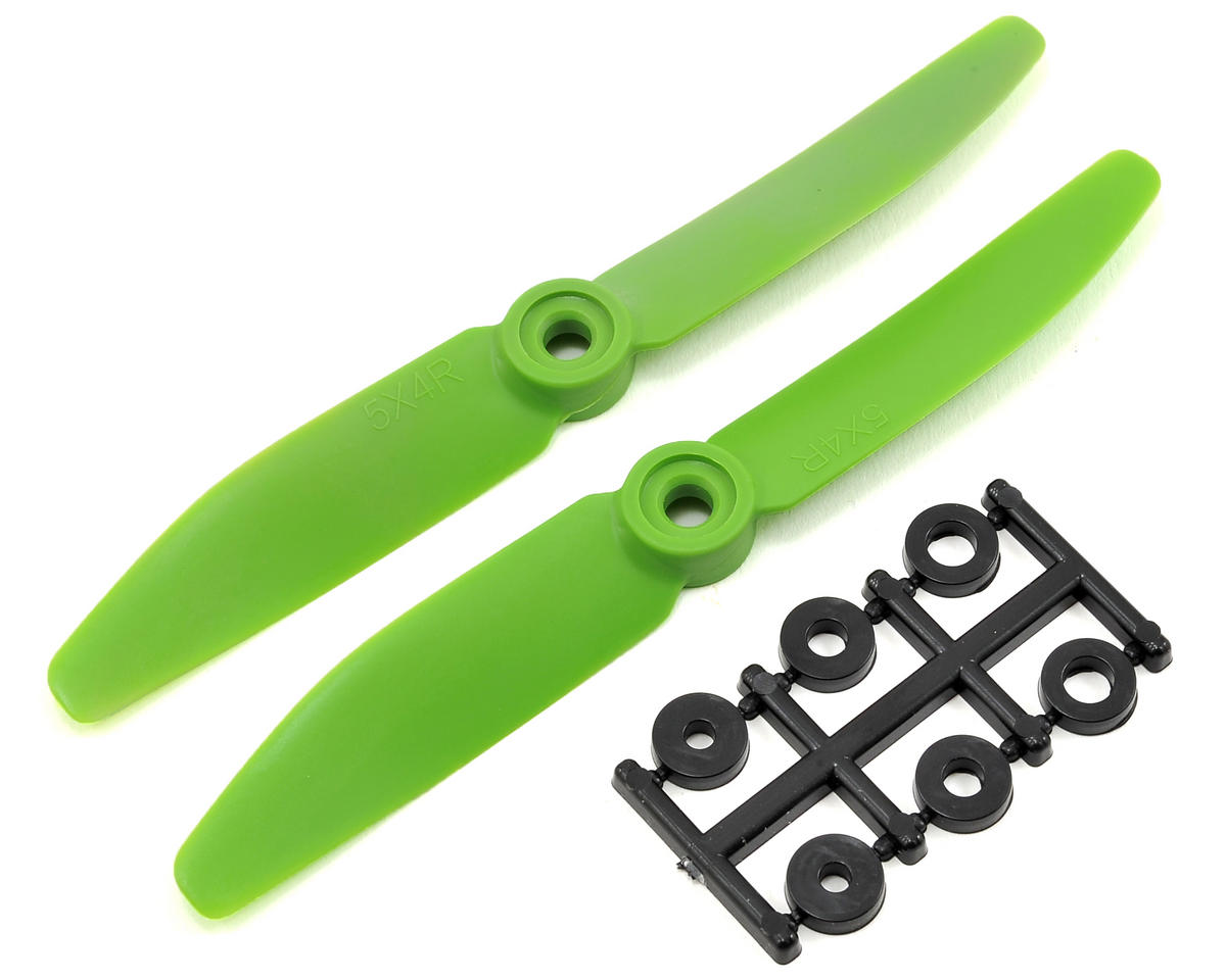 HQ Prop 5x4R Propeller (Green) (2)