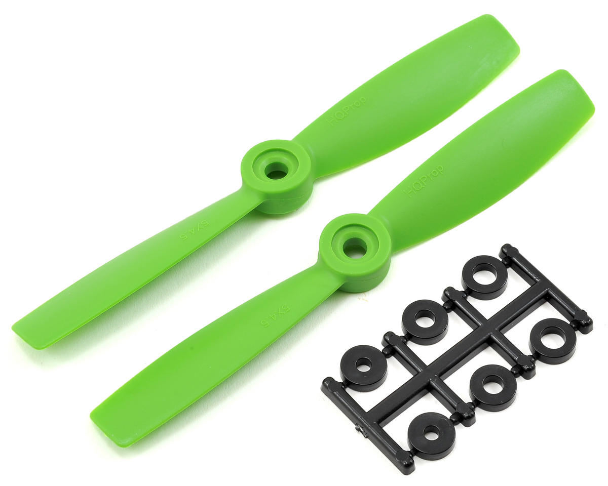 5x4.5 Bullnose Propeller (Green) (2) by HQ Prop