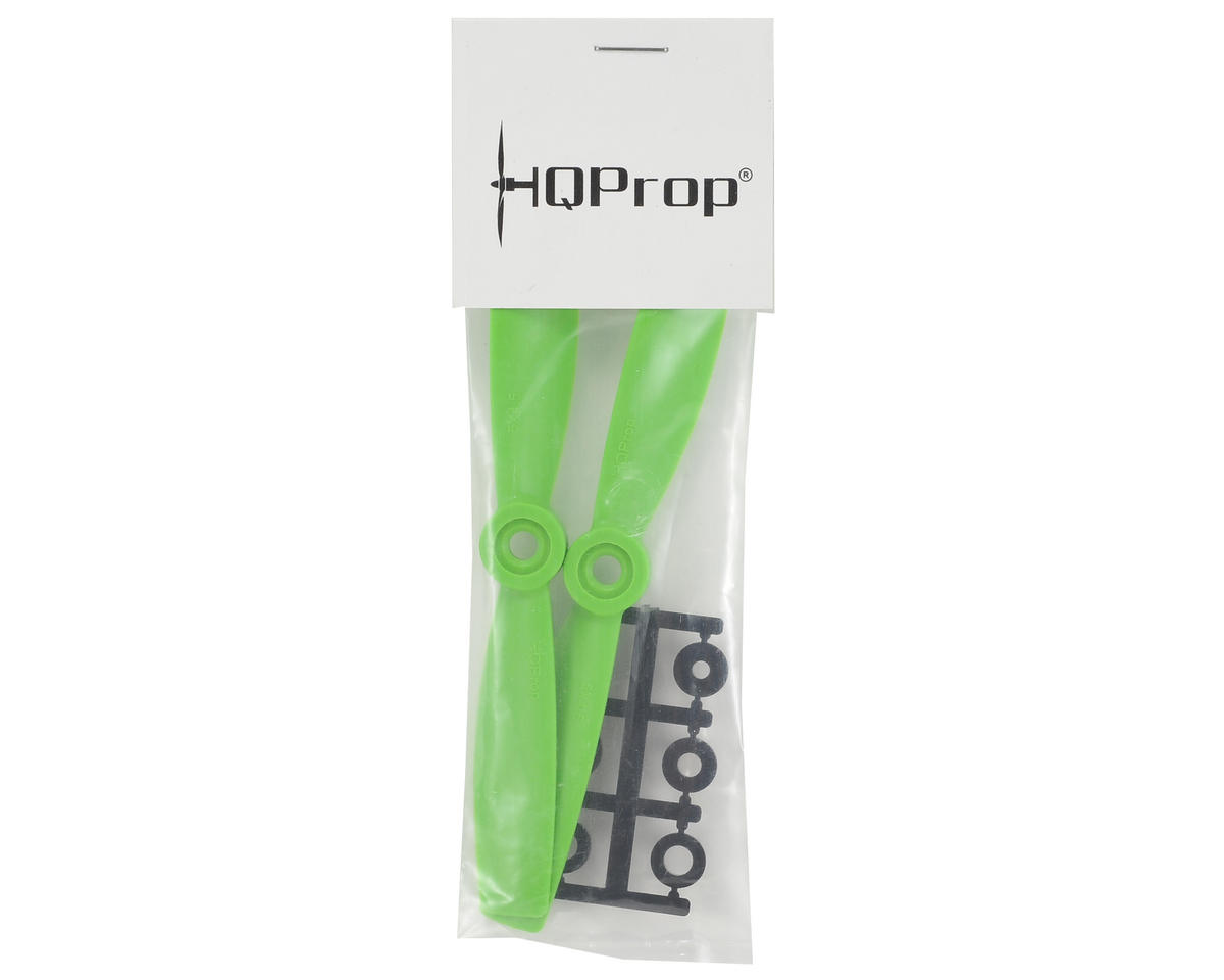 HQ Prop 5x4.5 Bullnose Propeller (Green) (2)