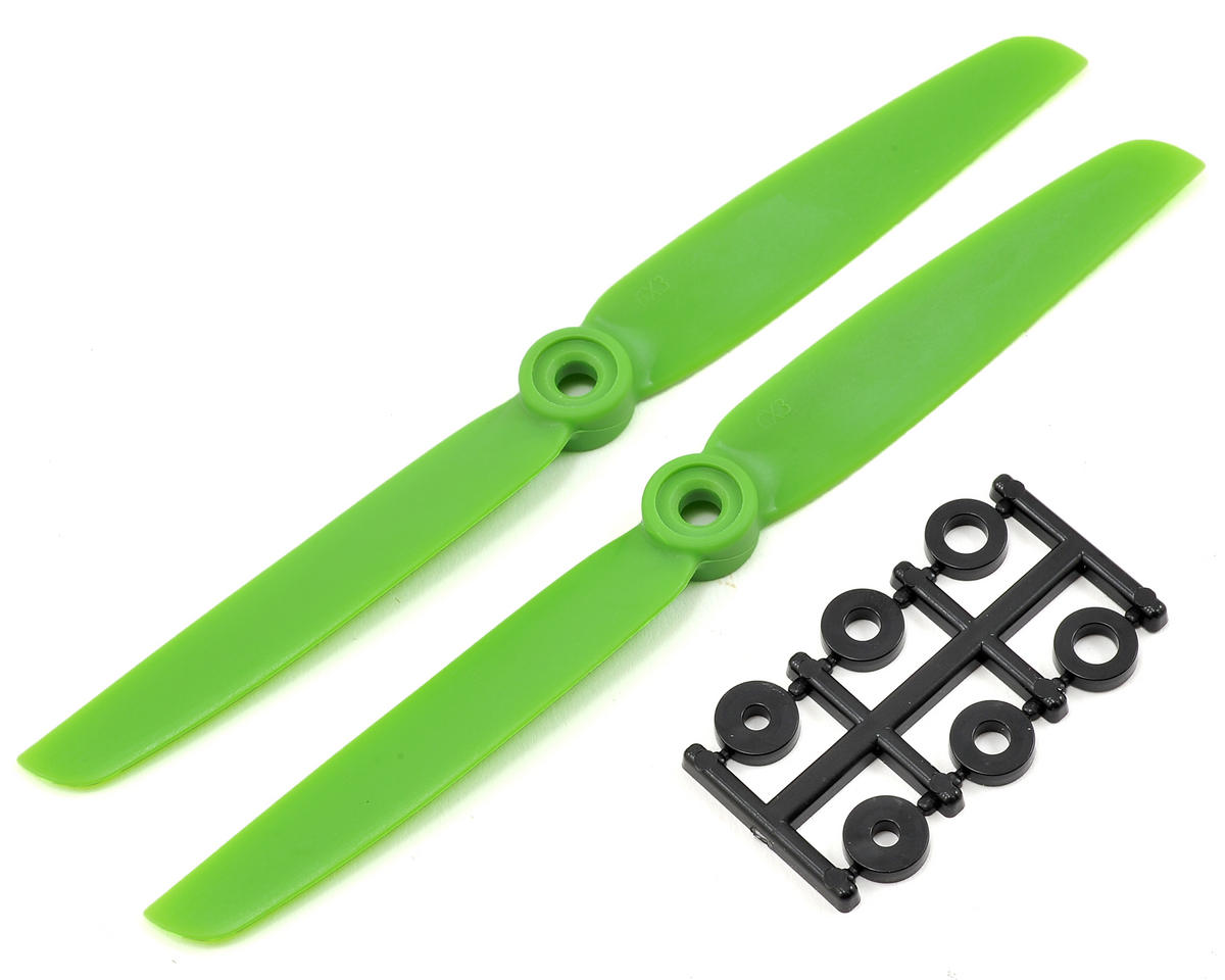 HQ Prop 6x3 Propeller (Green) (2)