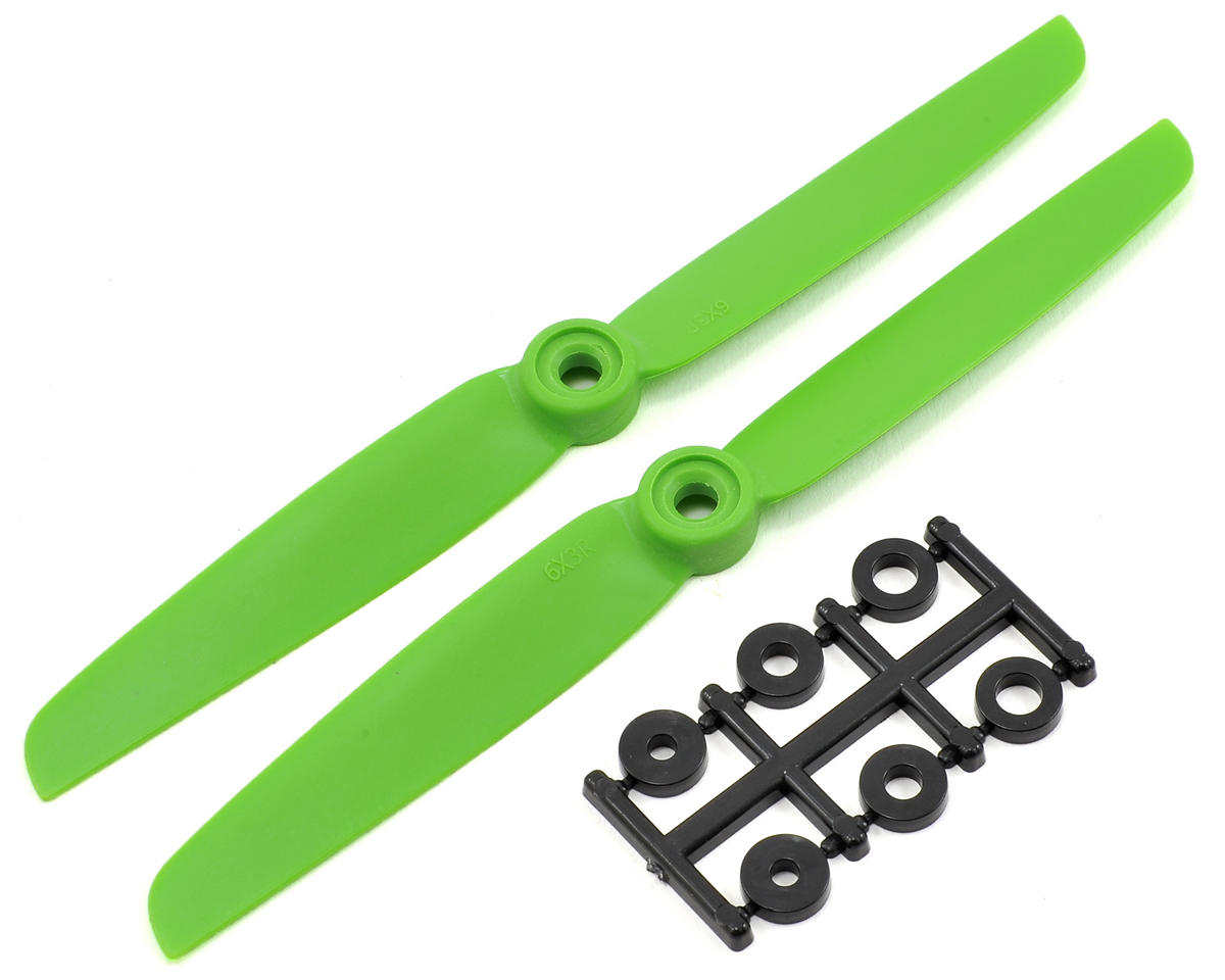 HQ Prop 6x3R Propeller (Green) (2)