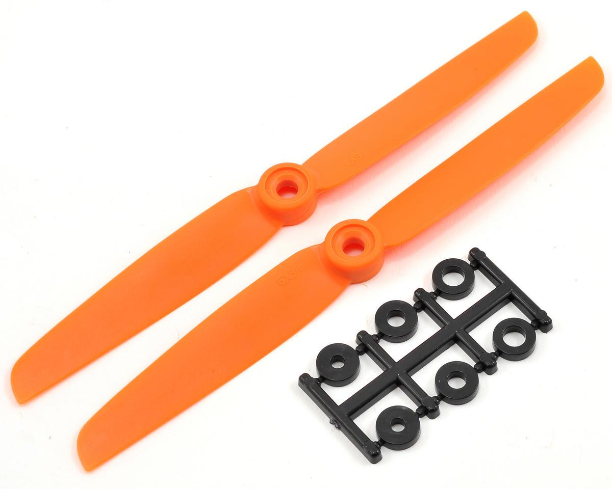 HQ Prop 6x3R Propeller (Orange) (2)