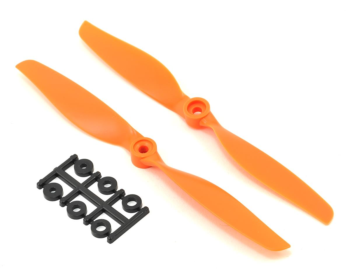 HQ Prop Slow Flyer Prop Pusher 7X4R (Orange)