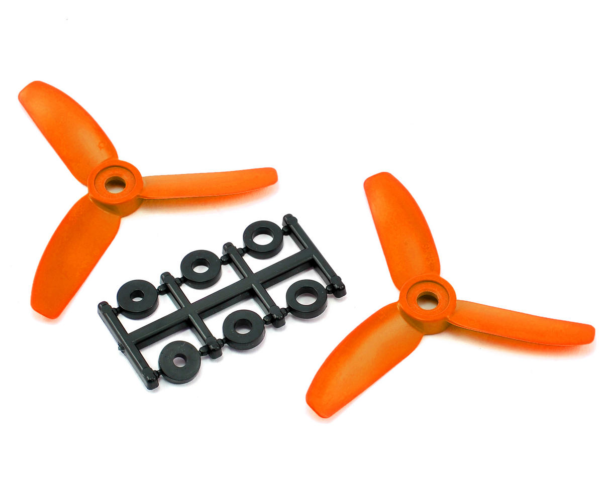 HQ Prop 3x3x3 Propeller (Orange) (2) (CW)