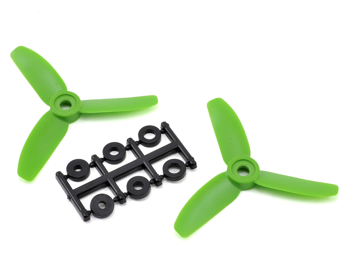 HQ Prop 3x3x3 Propeller (Green) (2) (CW)