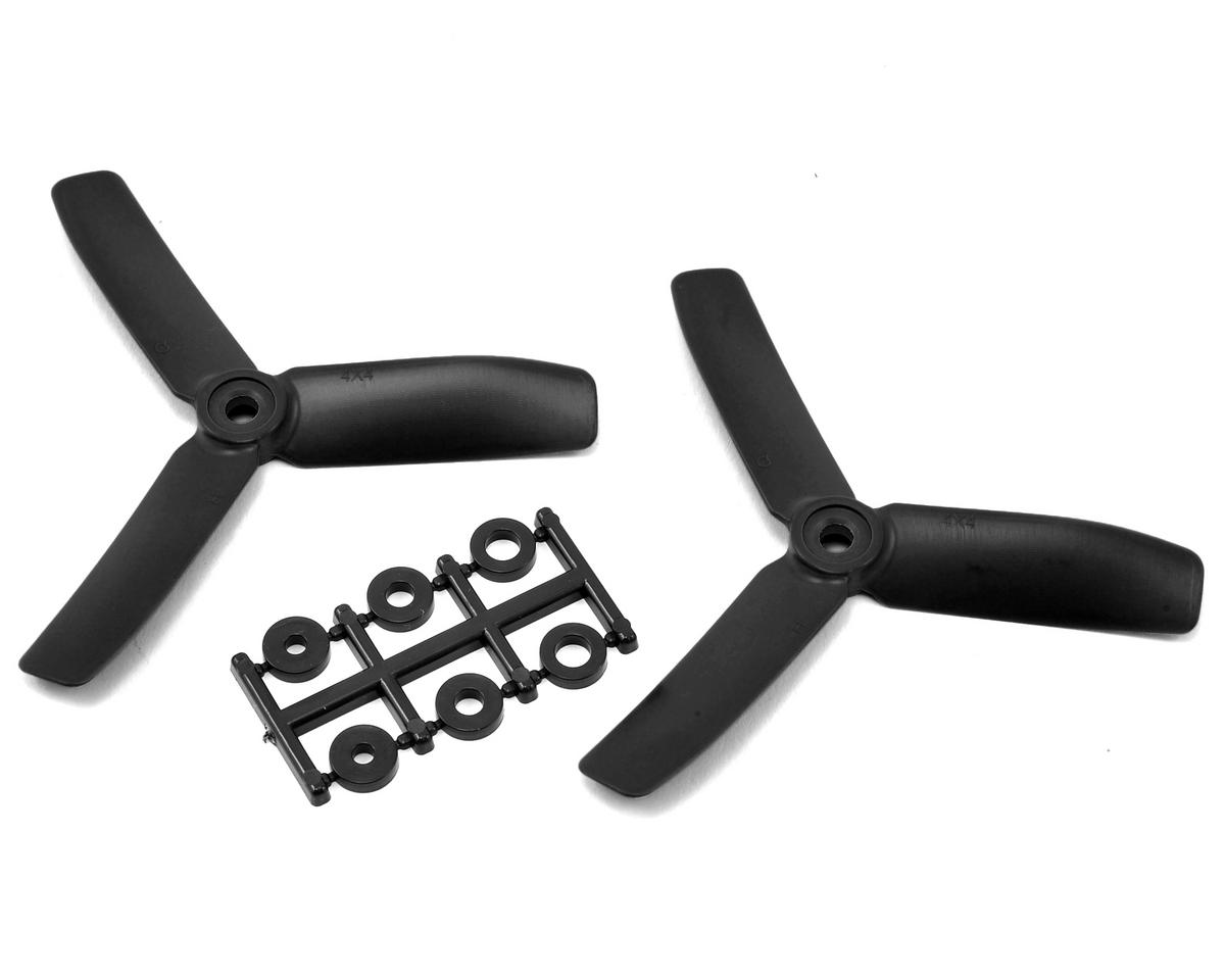 HQ Prop 4x4x3 Propeller (Black) (2) (CCW)