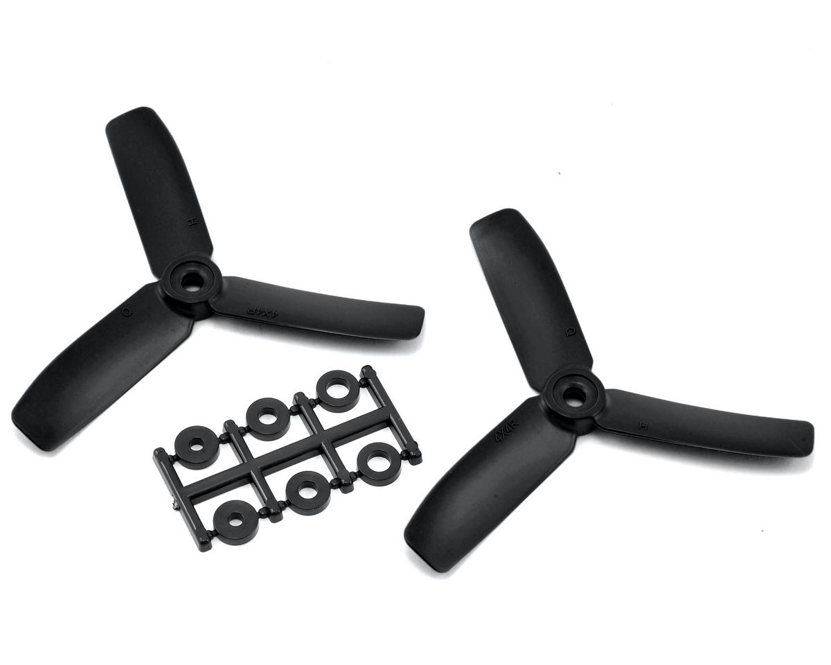 HQ Prop 4x4x3 Propeller (Black) (2) (CW)