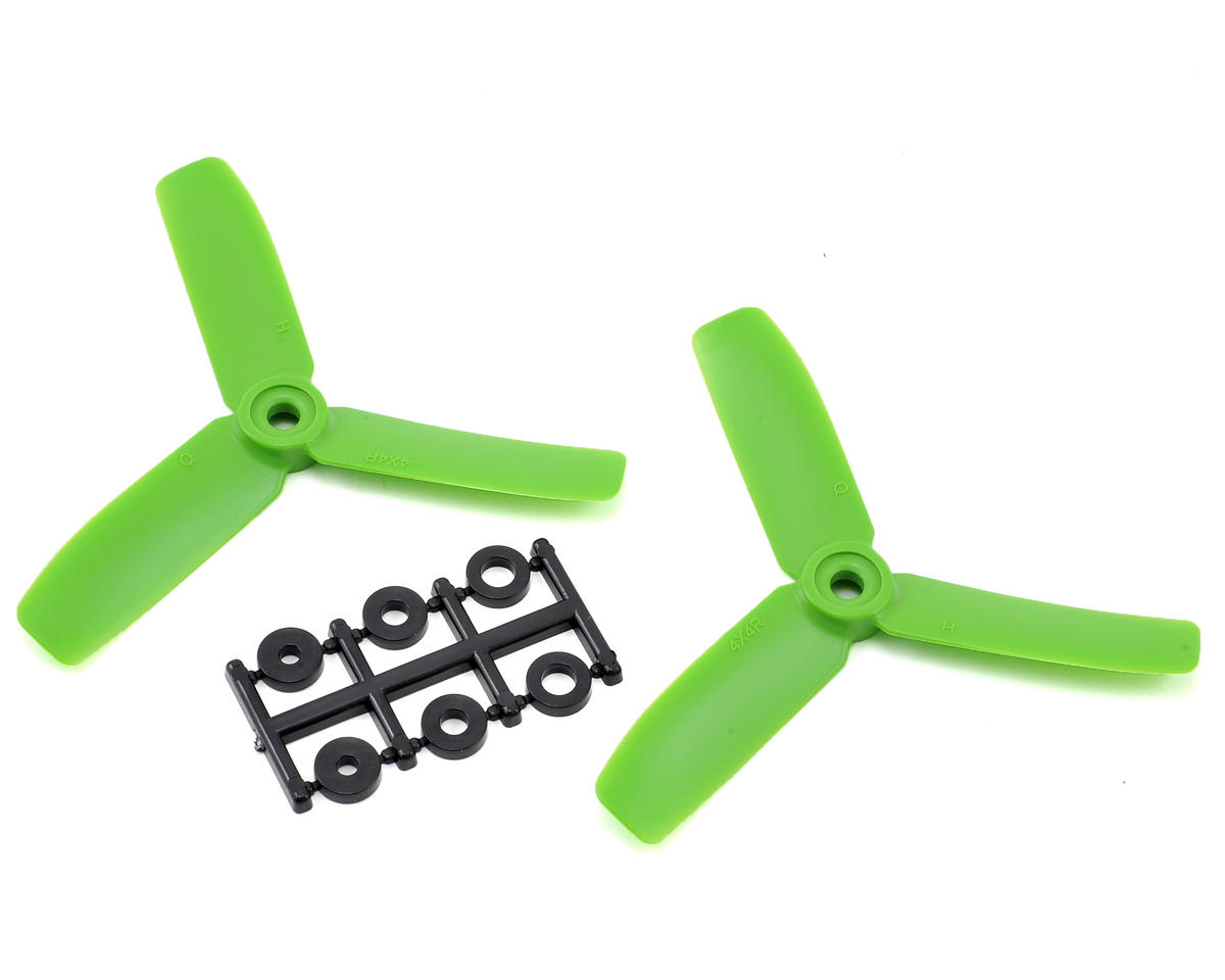 HQ Prop 4x4x3 Propeller (Green) (2) (CW)