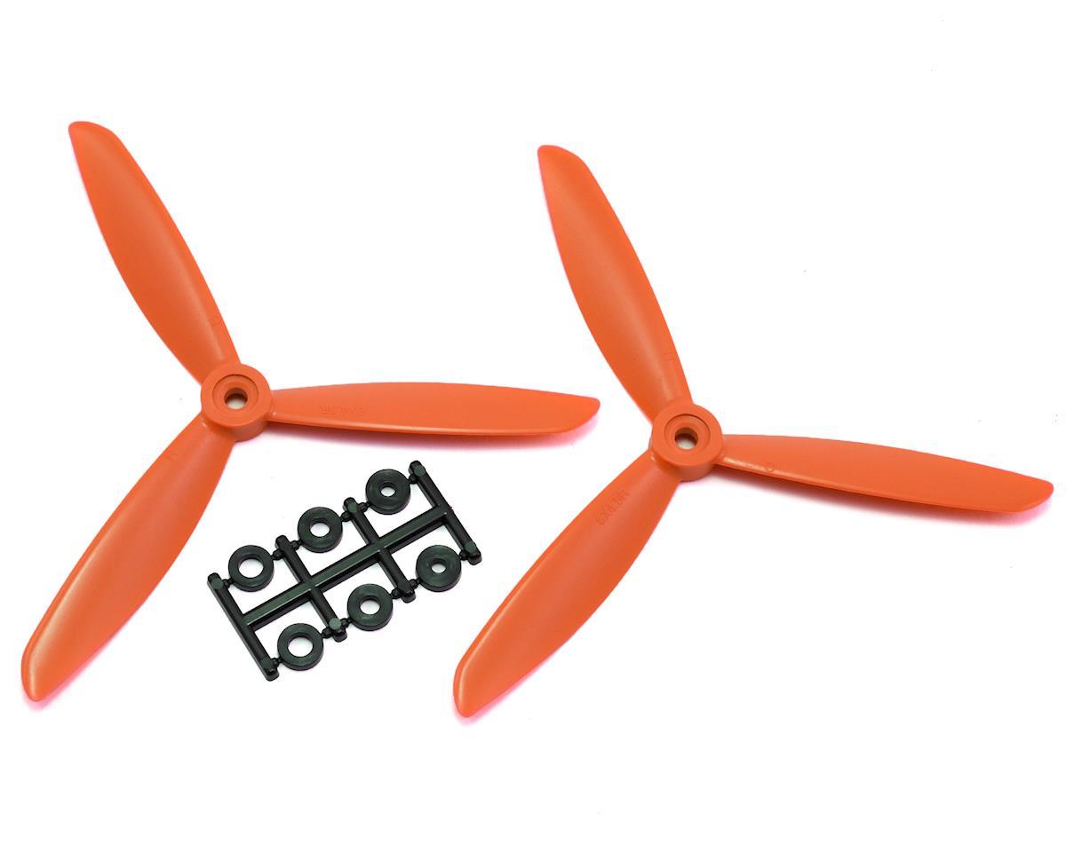 HQ Prop 6x4.5x3 Propeller (Orange) (2) (CW)