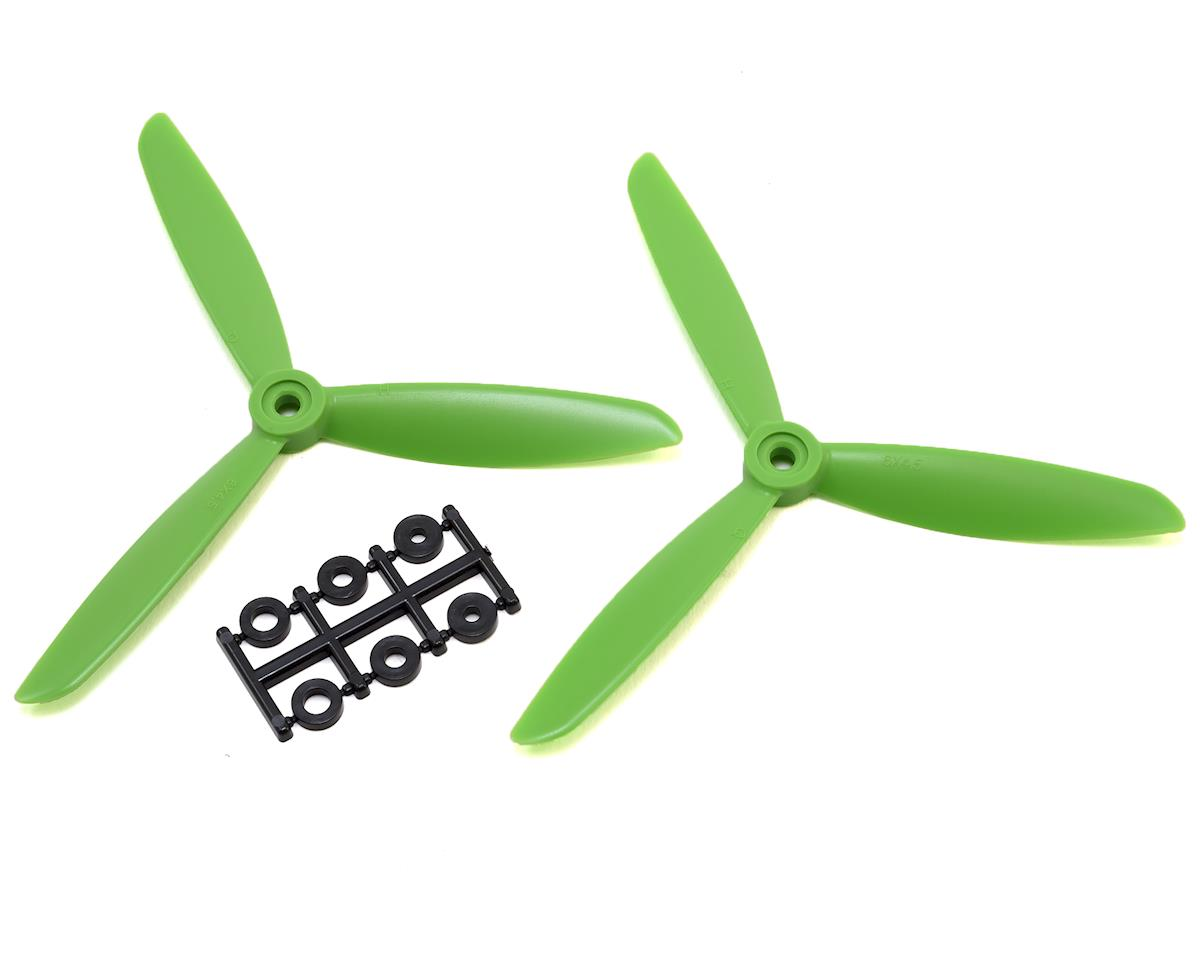 HQ Prop 6x4.5x3 Propeller (Green) (2) (CCW)