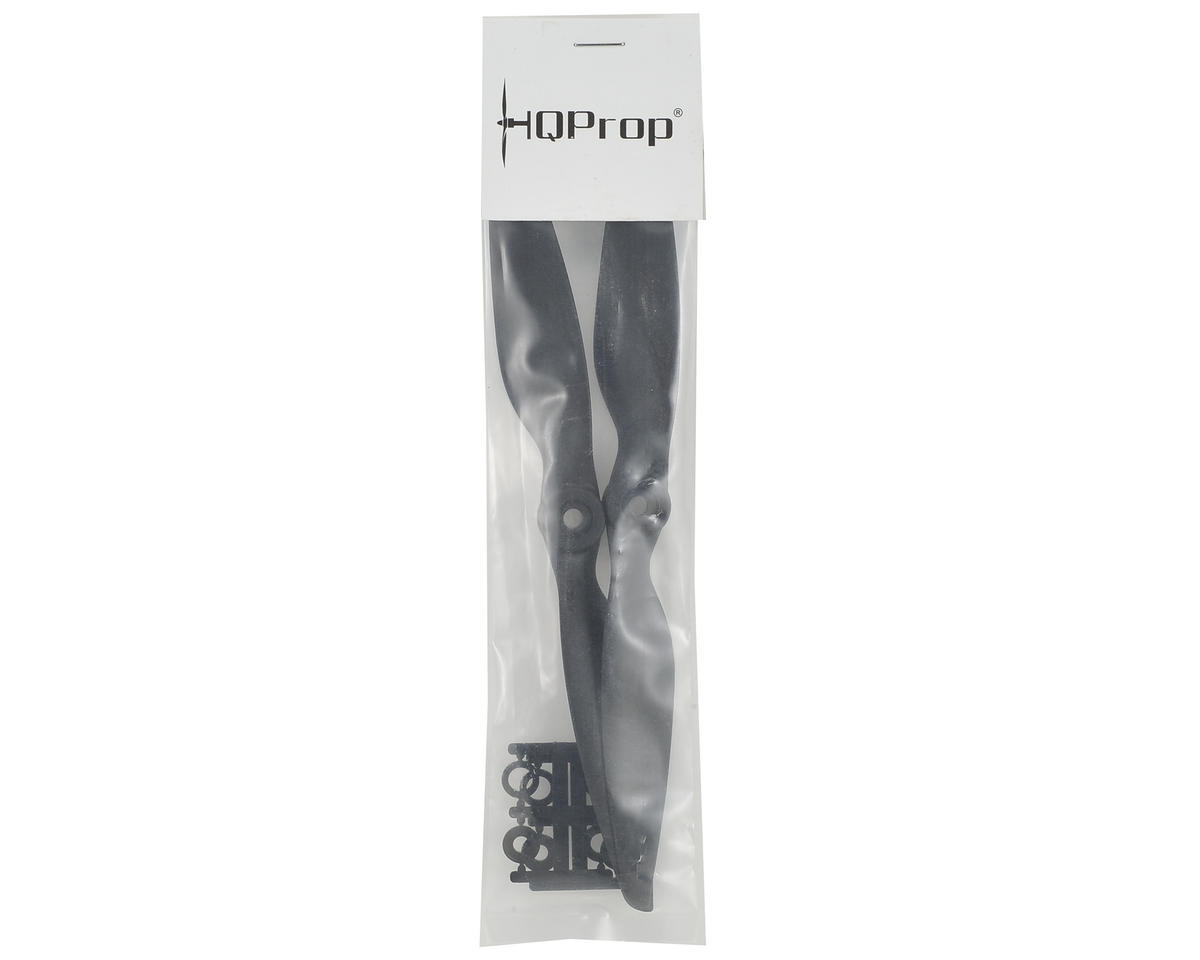 HQ Prop 8x4.5R Carbon Mix Propeller (Black) (2)