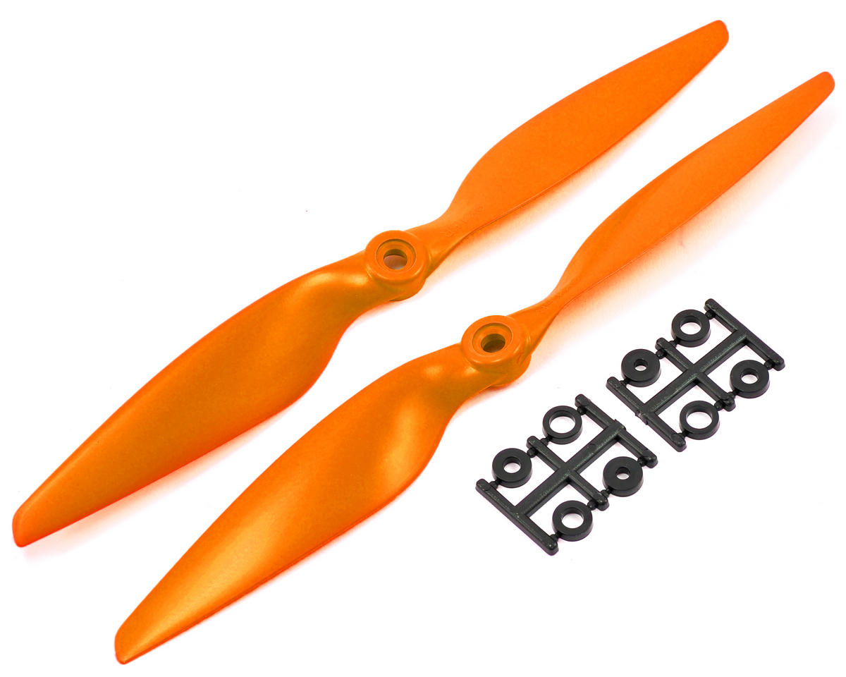HQ Prop 9x4.5R Propeller (Orange) (2)
