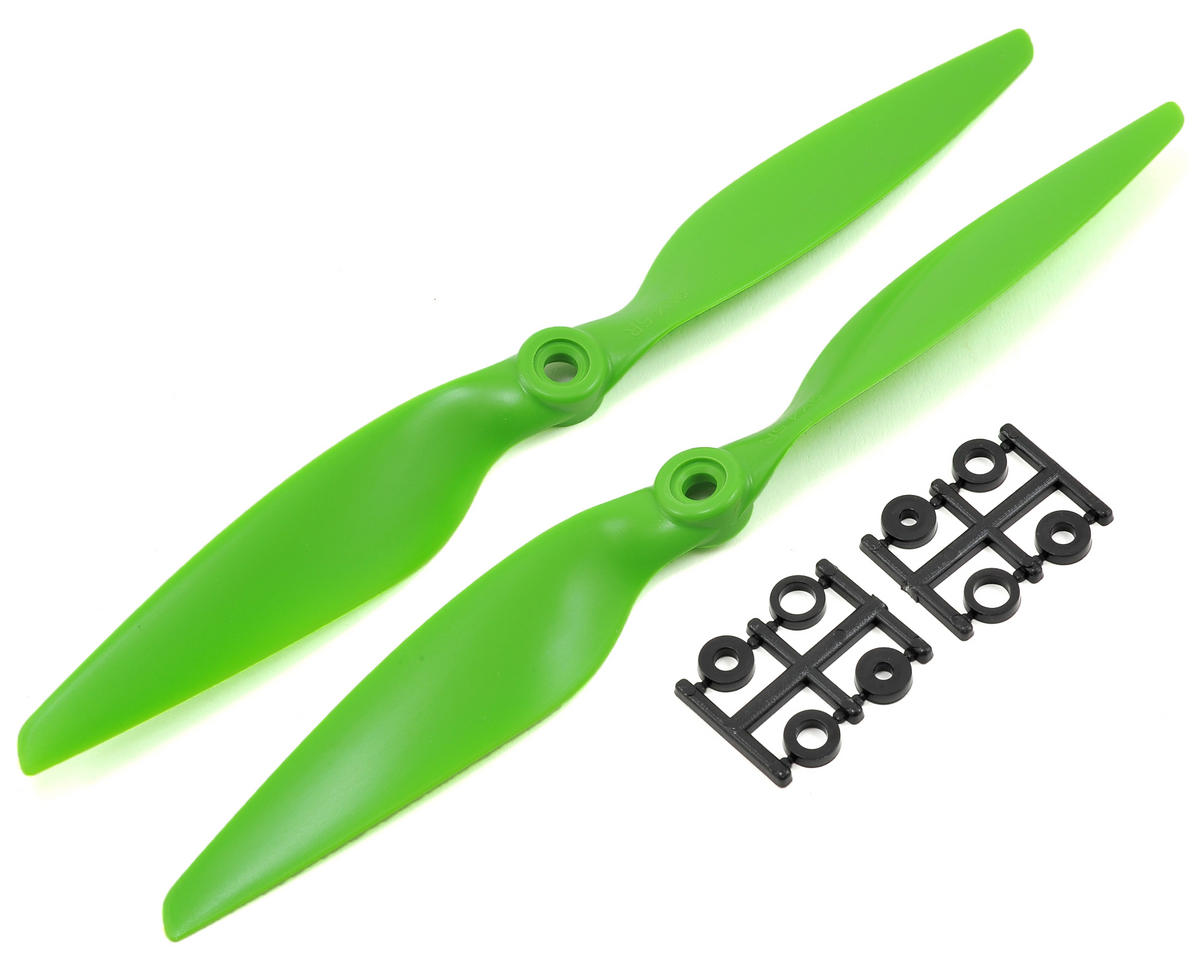 HQ Prop 9x4.5R Propeller (Green) (2)