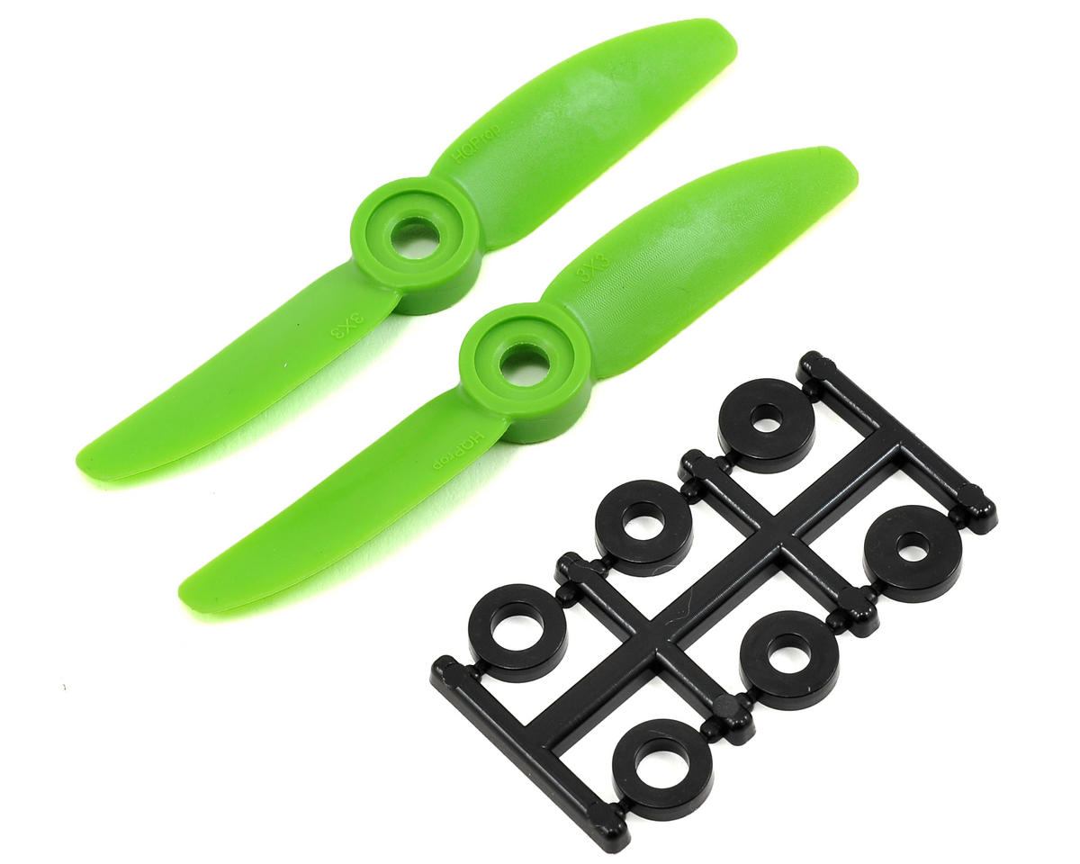 HQ Prop 3x3 Propeller (Green) (2)