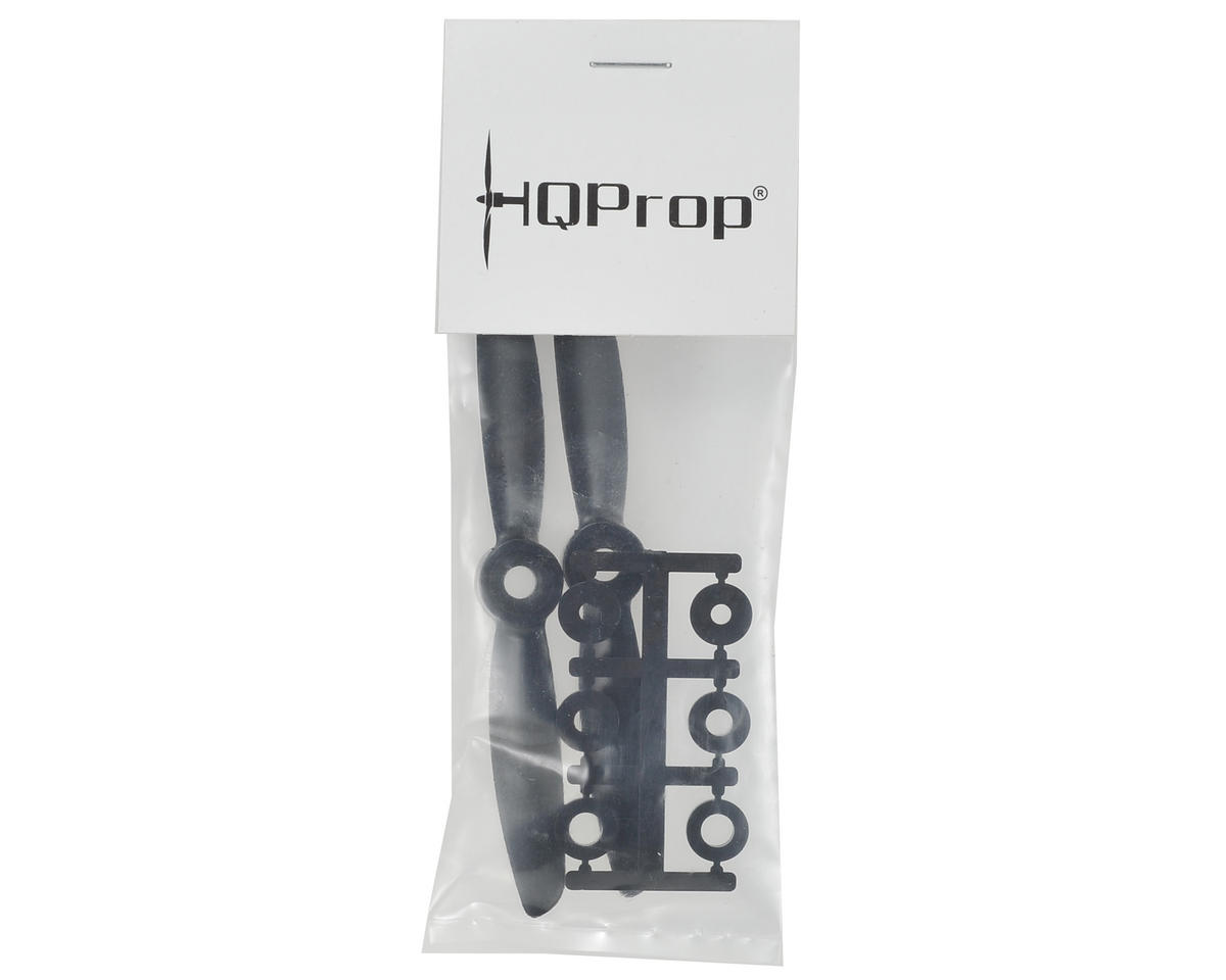 HQ Prop 4x4.5 Carbon Mix Propeller (Black) (2)