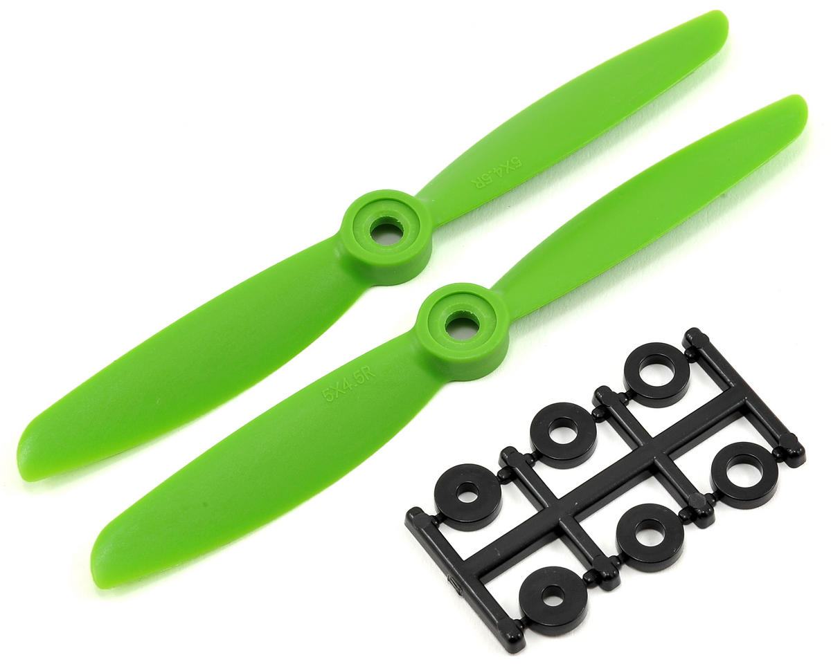 HQ Prop 5x4.5R Propeller (Green) (2)