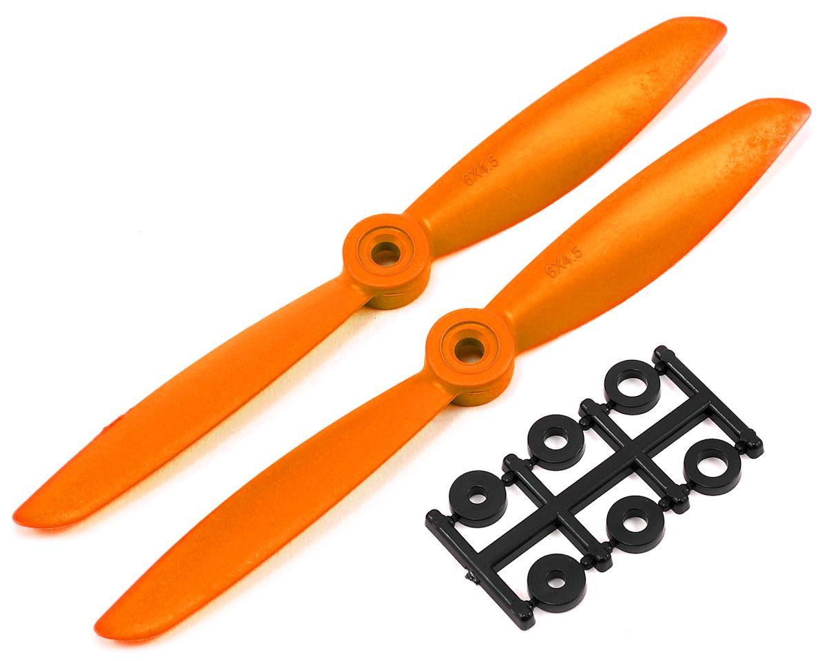 HQ Prop 6x4.5 Propeller (Orange) (2)