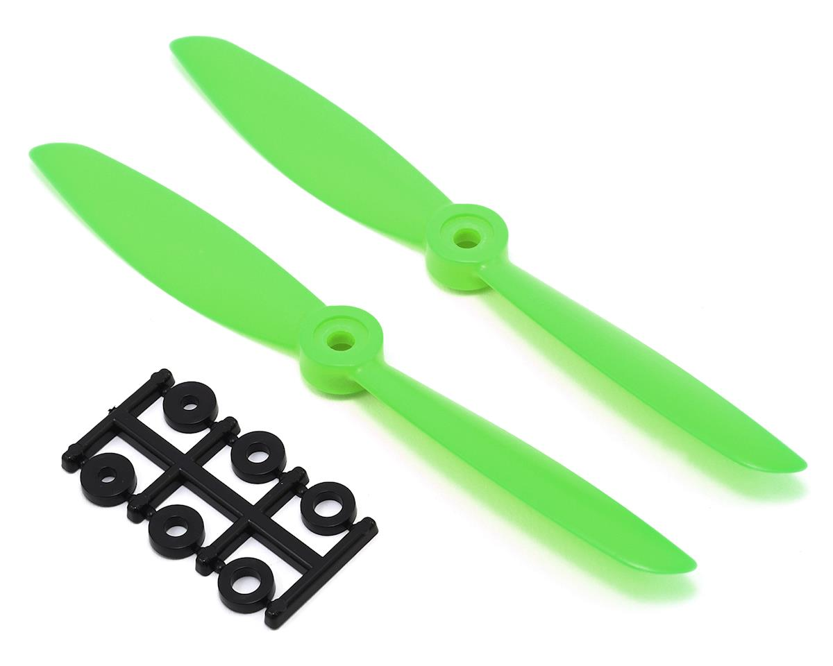 HQ Prop 6x4.5 Propeller (Green) (2) (CW)