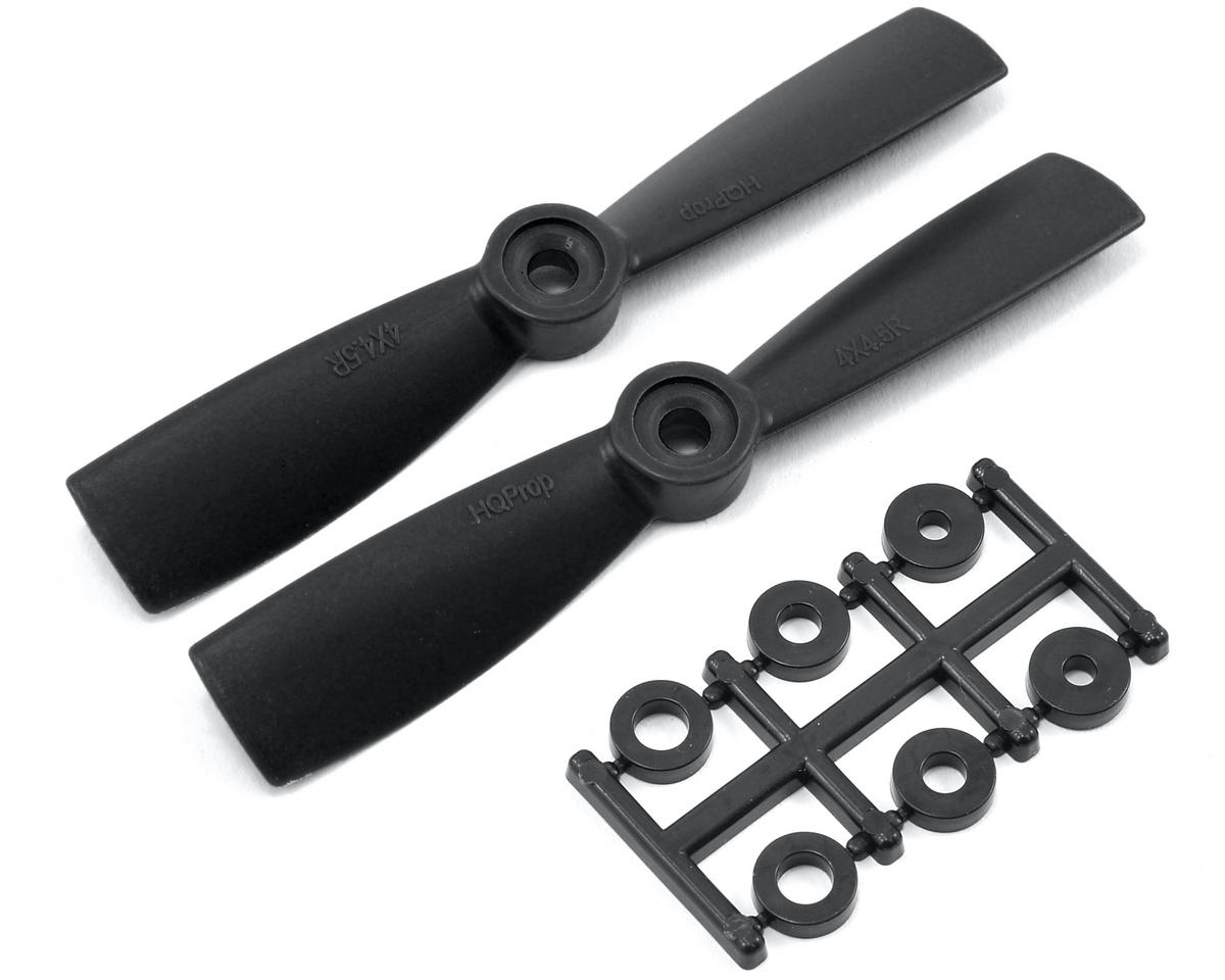 HQ Prop 4x4.5R Carbon Mix  Bullnose Propeller (Black) (2)