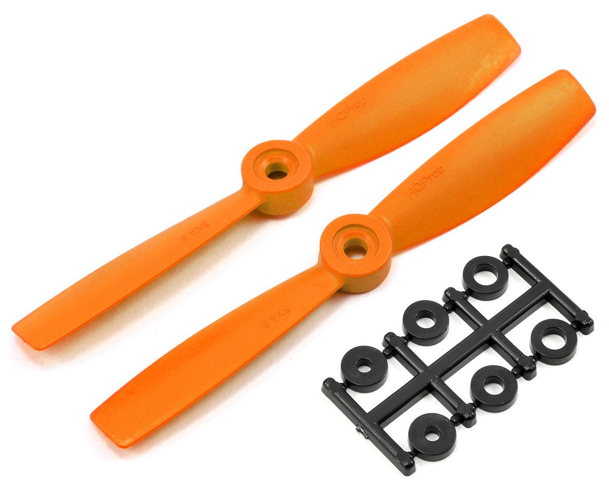HQ Prop 5x4.5 Bullnose Propeller (Orange) (2)