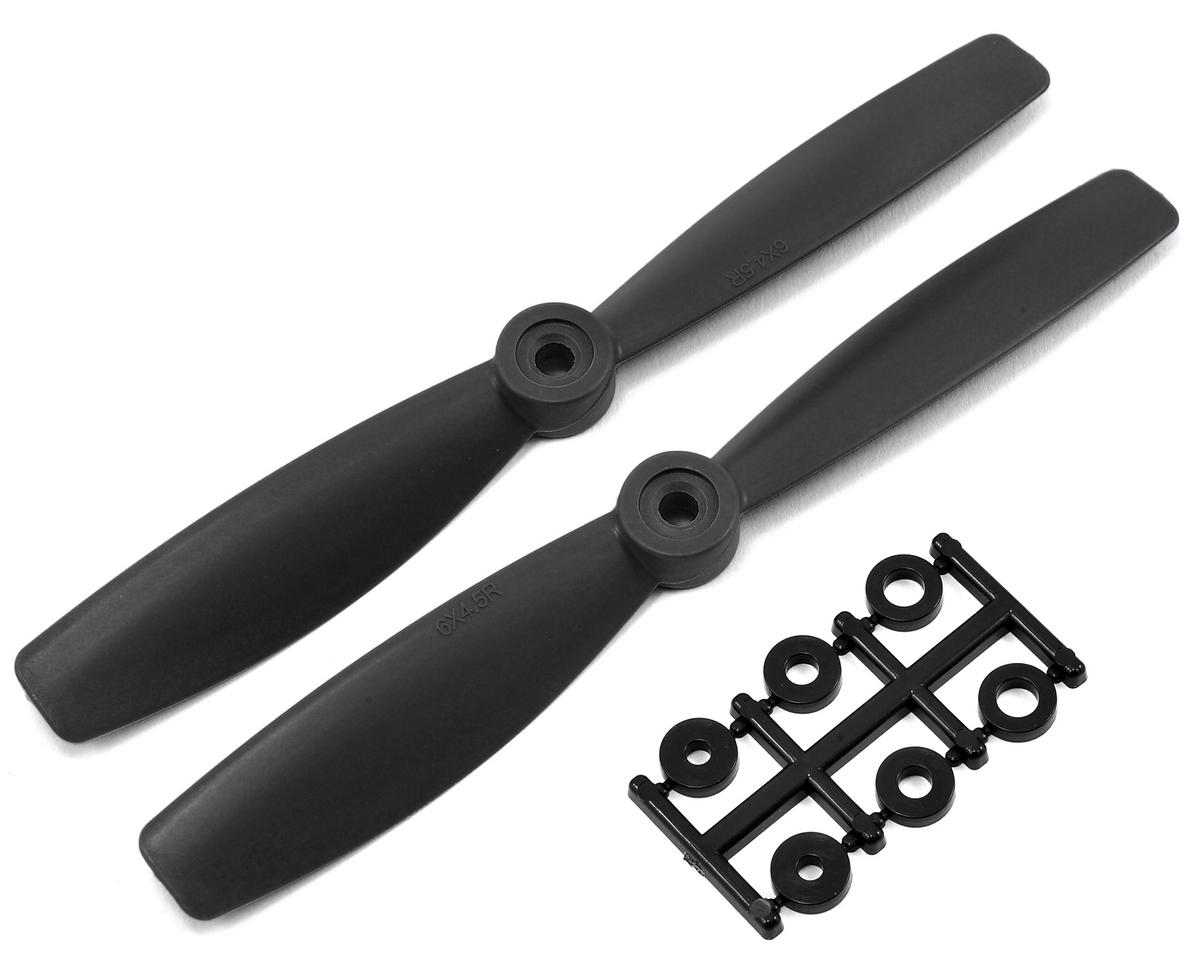 HQ Prop 6x4.5R Carbon Mix  Bullnose Propeller (Black) (2)