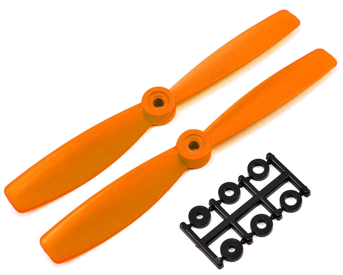 HQ Prop 6x4.5R Bullnose Propeller (Orange) (2)