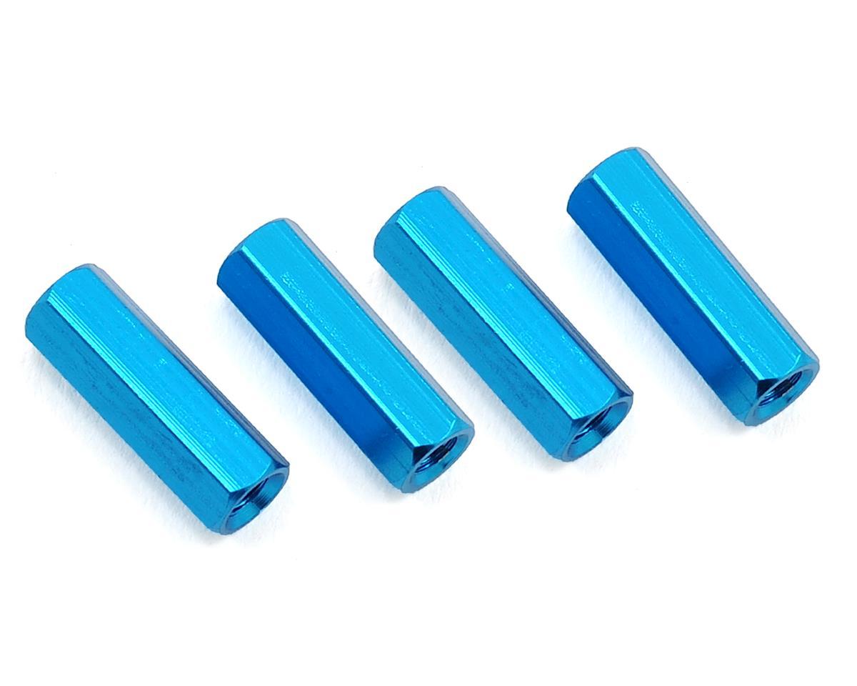 HQ Prop 3x15mm Aluminum Standoff (Blue) (4)