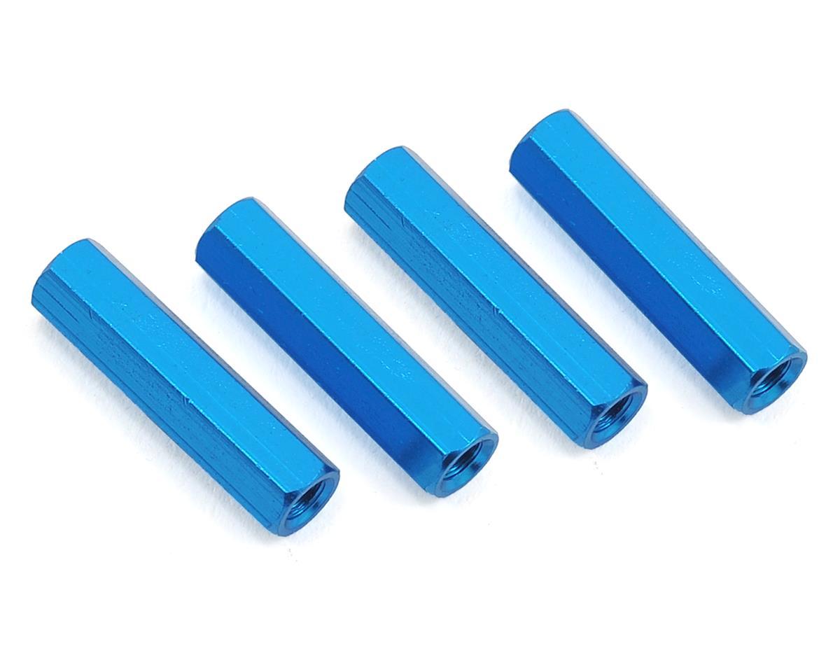 HQ Prop 3x20mm Aluminum Standoff (Blue) (4)