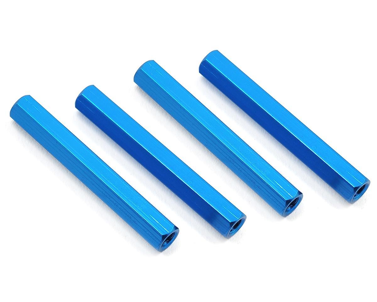 HQ Prop 3x35mm Aluminum Standoff (Blue) (4)