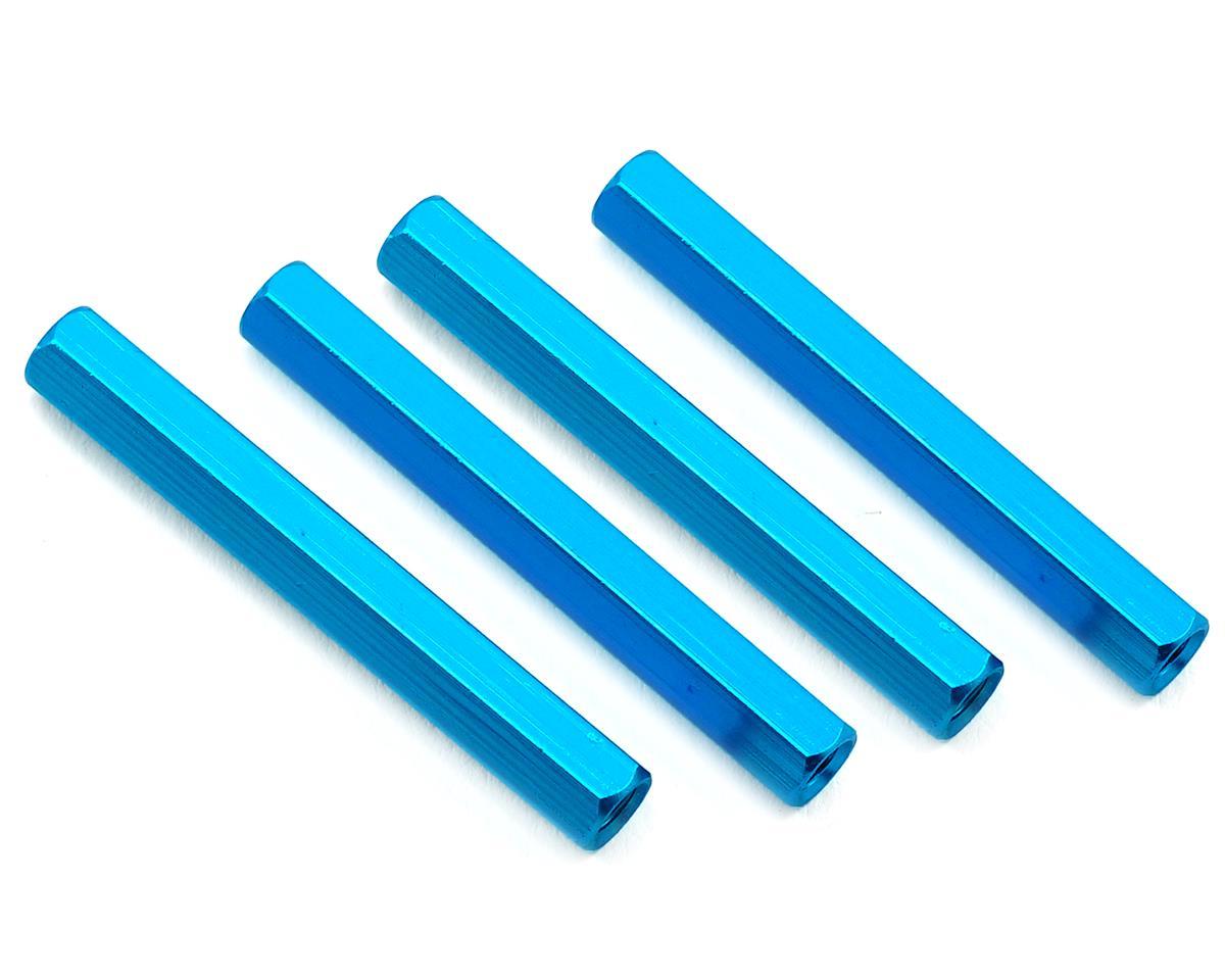 HQ Prop 3x37mm Aluminum Standoff (Blue) (4)