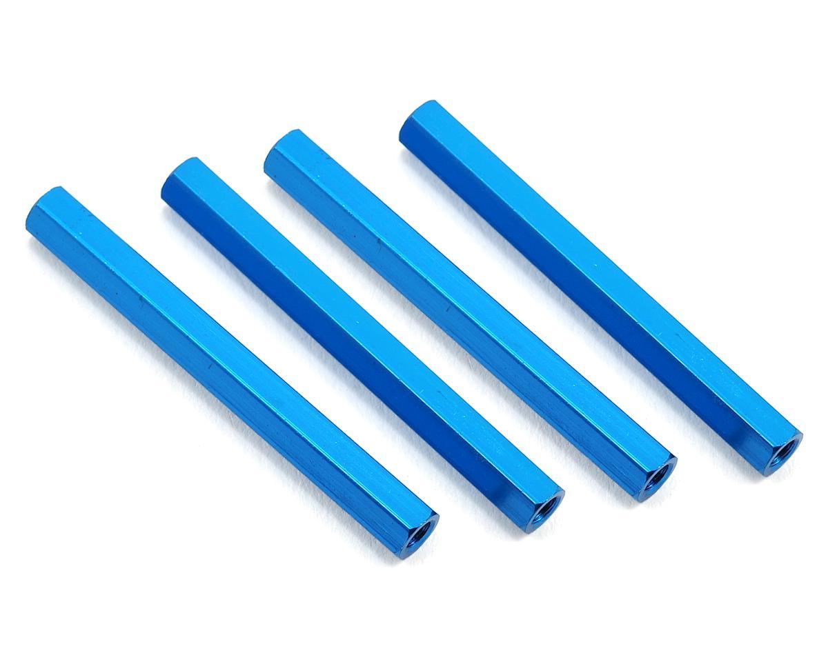 HQ Prop 3x45mm Aluminum Standoff (Blue) (4)