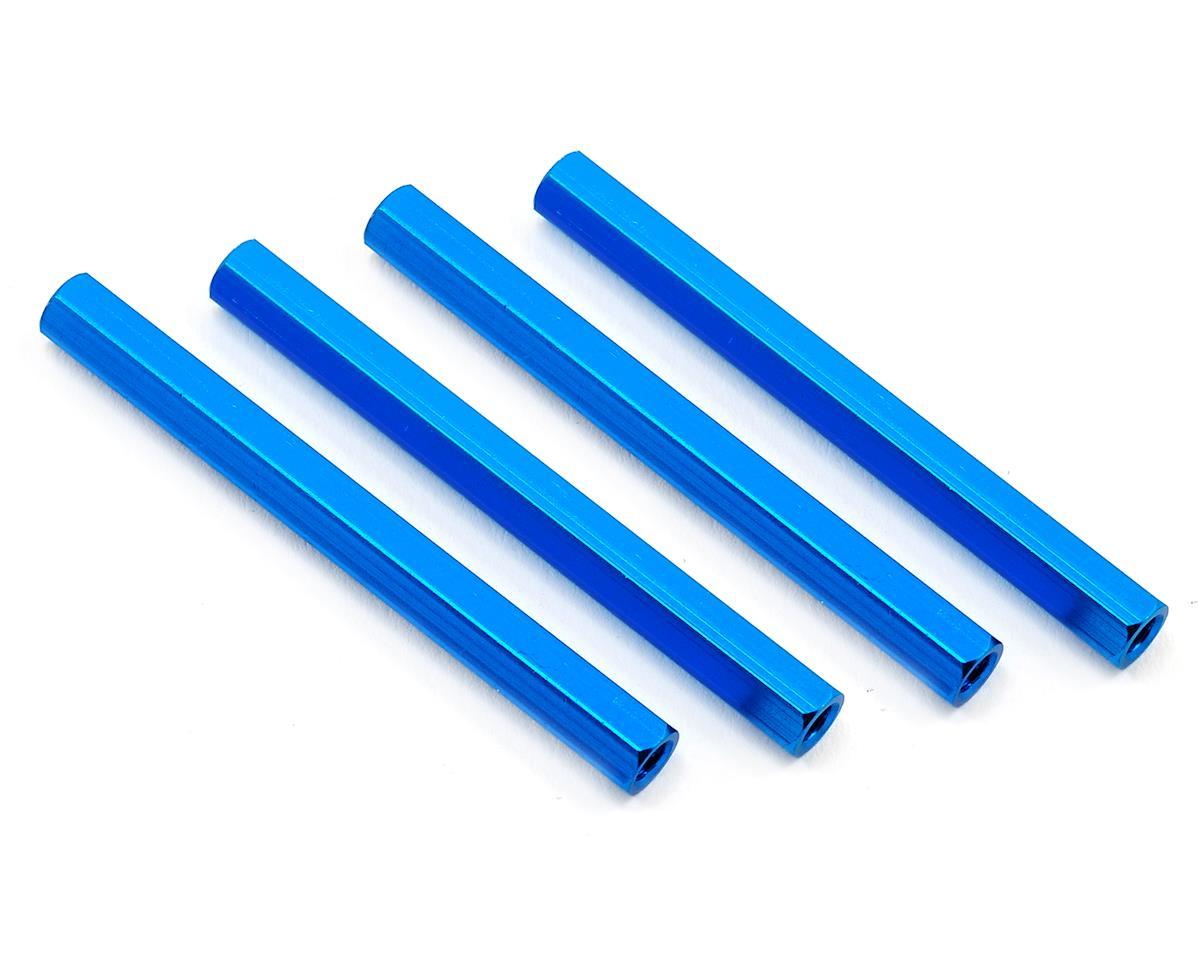 HQ Prop 3x50mm Aluminum Standoff (Blue) (4)