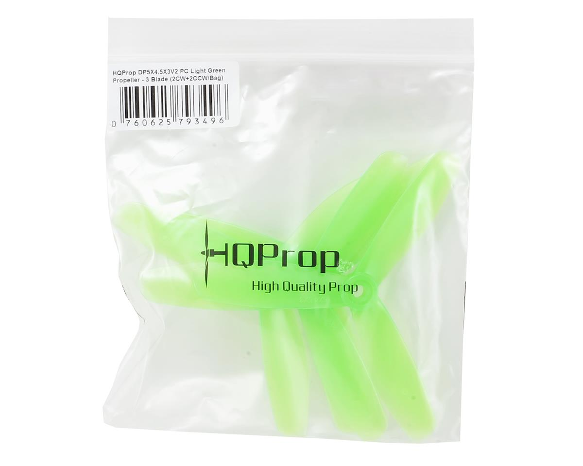 HQ Prop Durable 5X4.5X3 V2 PC (Light Green)