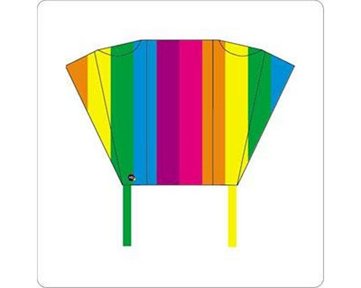 100085 Pocket Sled KITE Rainbow with Travel Case by HQ Kites