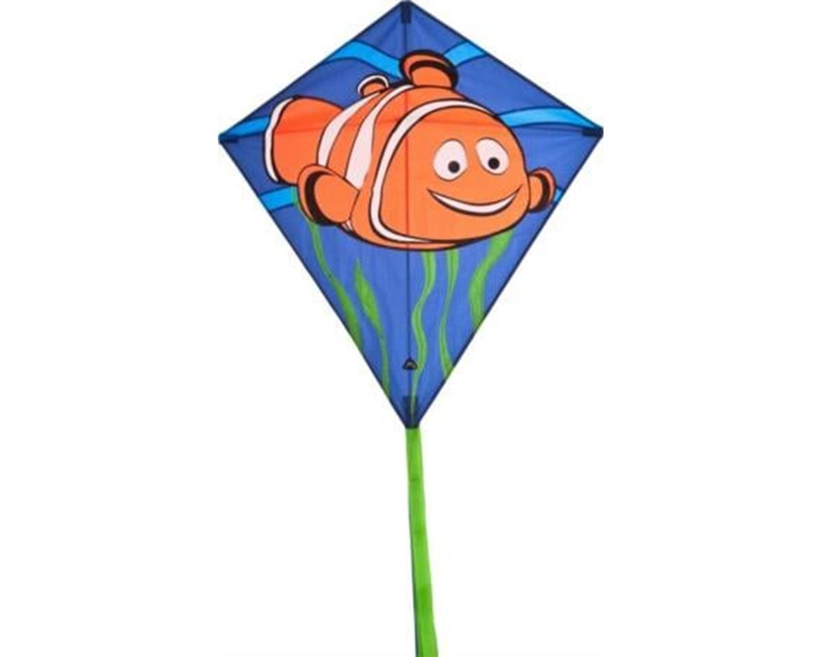 HQ Kites Eddy Clownfish 27In Diamond Kite