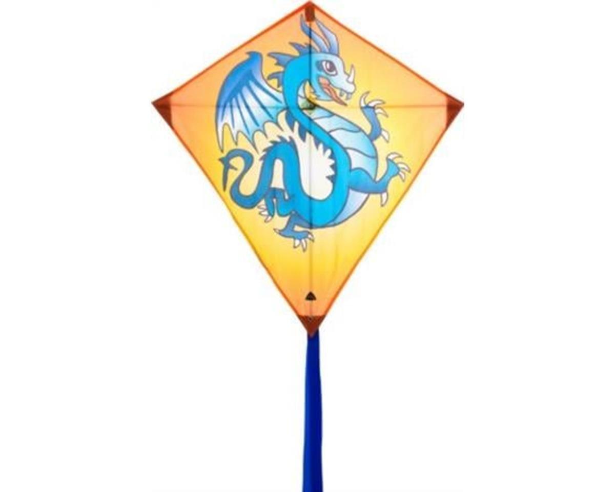 "Eddy Dragon 27"" Diamond Kite"