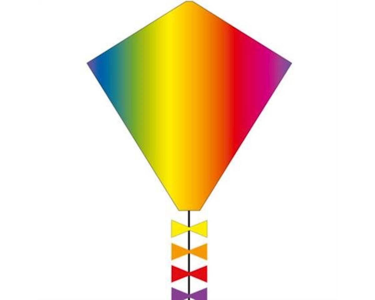 "HQ Kites Kites  Eco Line Eddy's Rainbow 20"" Kite"