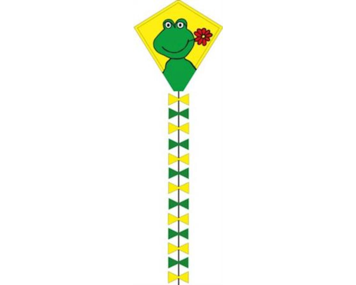 "HQ Kites Eddy Happy Froggy 20"" Diamond Kite"