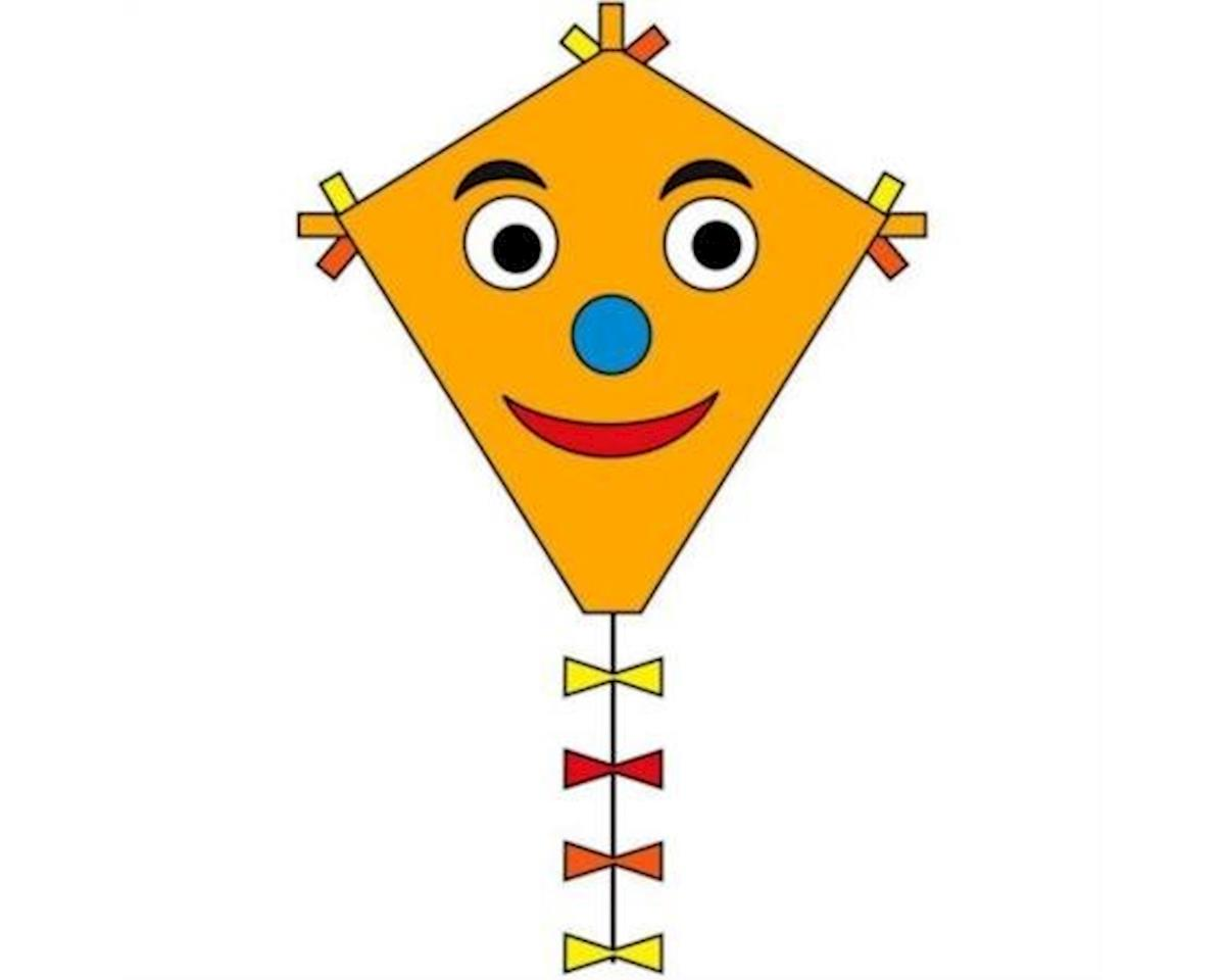 "Eddy Happy Face 20"" Diamond Kite"