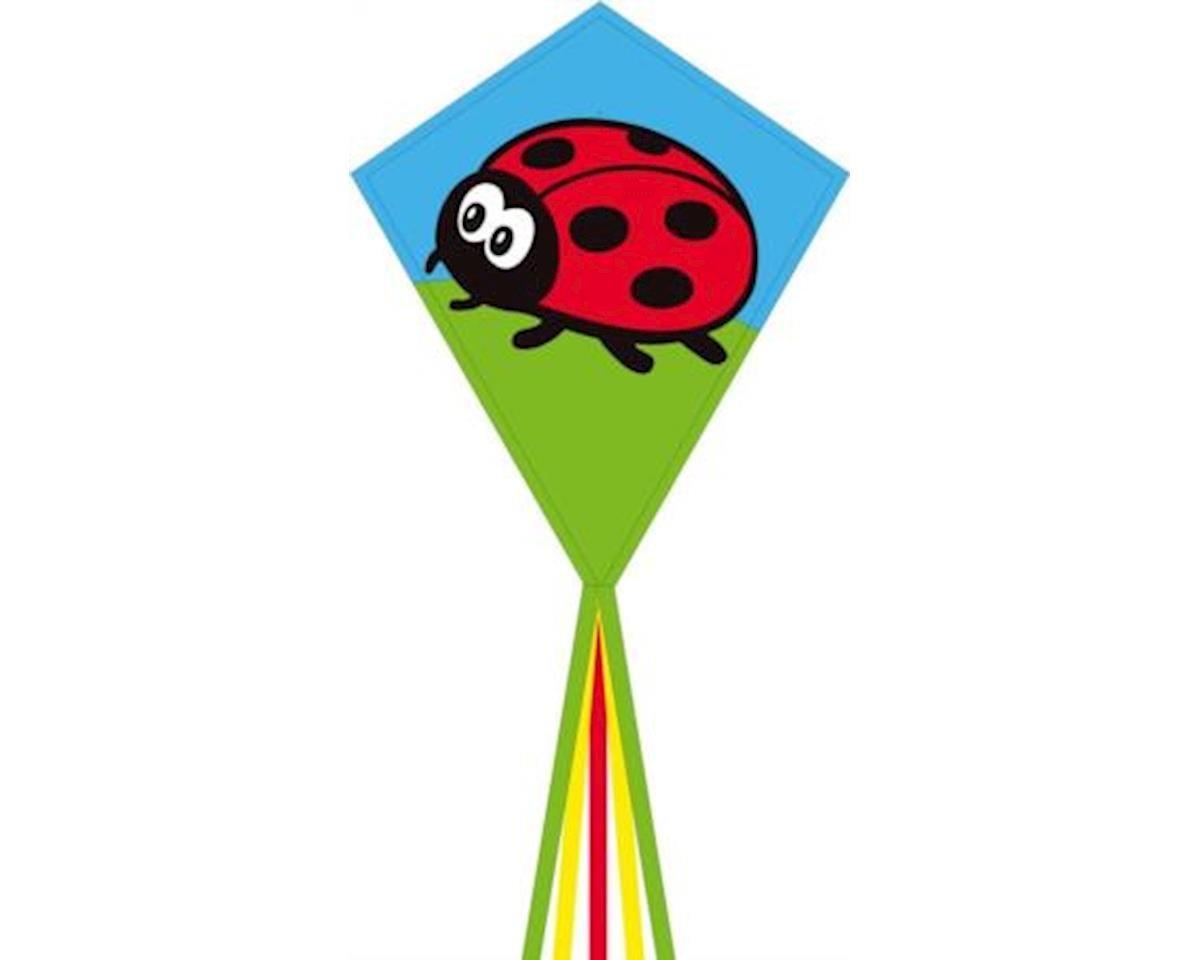 "Eddy Ladybug 28""Diamond Kite"