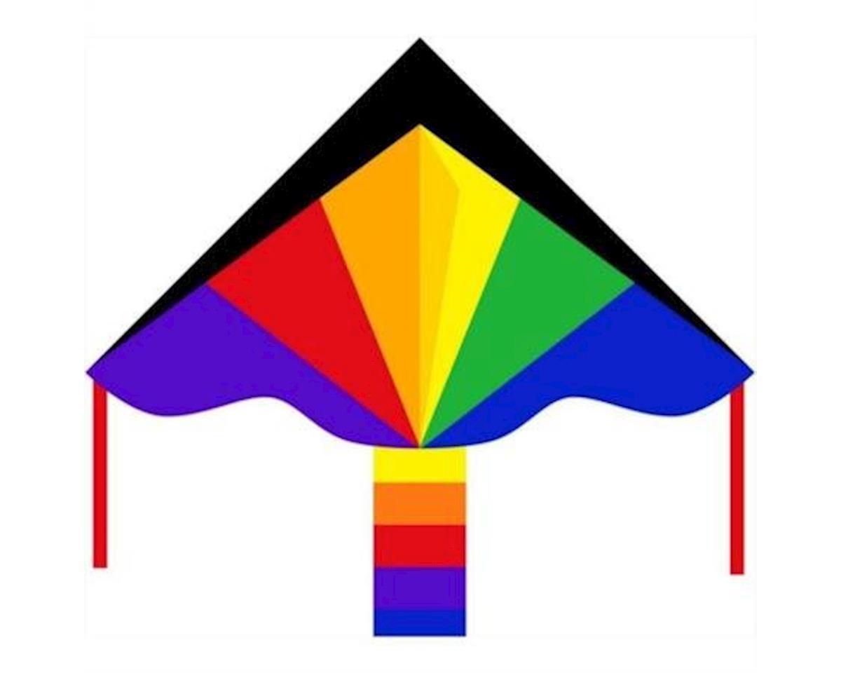 """HQ Kites Kites  48"""" Ecoline Rainbow Simple Kite"""